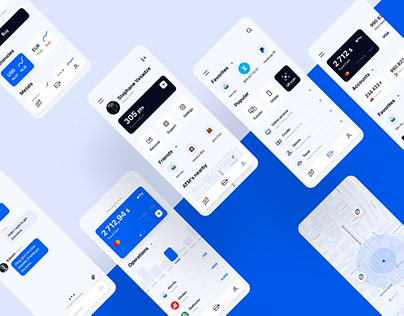 PSB (Promsvyazbank) mobile app redesign concept