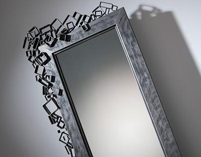 Dekorativní zrcadlo na postavení Z05