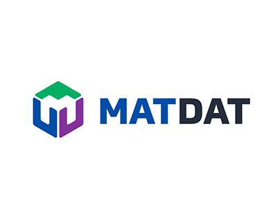 MATDAT logo & brand identity