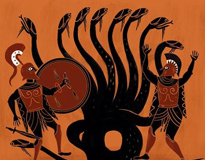 """Portada de """"Fuego griego, flechas envenenadas..."""""""