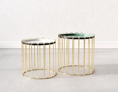 side table CHA CHA CHA Kare Design | 3D Model