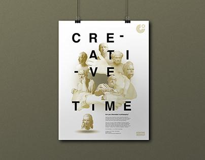 "Goethe Institut ""Creative Time"" Poster Series"