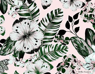 Botanical print by Bella Gomez