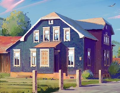 Haus Drei // Illustration