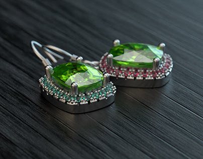 Jewelry 3D visualization