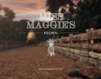 Miss Maggie's kitchen - 3D Animation