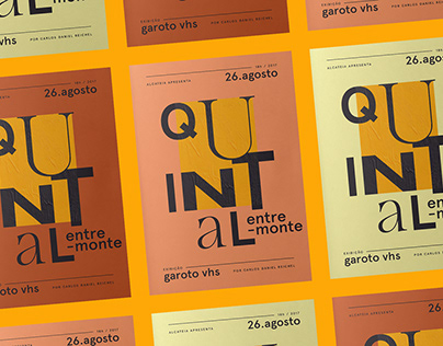 Quintal Entremonte — Poster