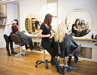 Hairdresser Website Design
