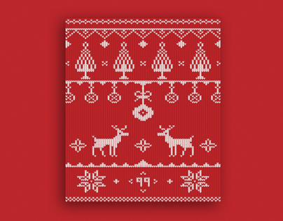Christmas Sweater Card 🦌