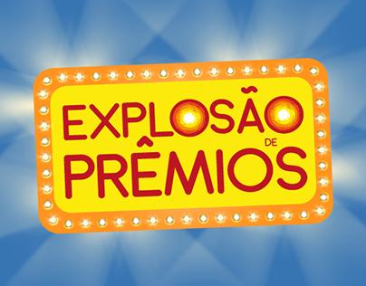 Logotipo Explosão de Prêmios - Feira 40 Graus