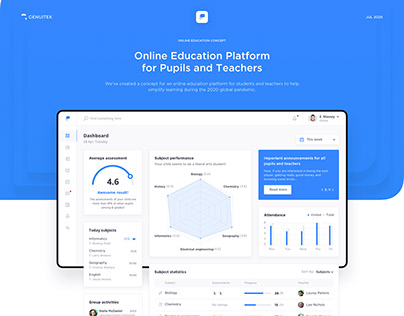 Pupils Education - Online Education Platform