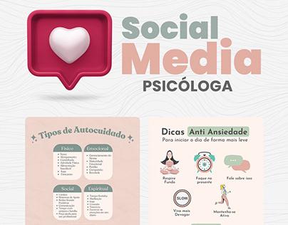 Social Media - Psicólogas