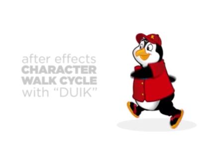 Character Walk Cycle | Kona the Penguin