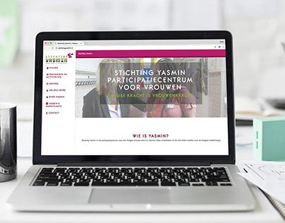 Webdesign and Magazine stichting Yasmin The Hague