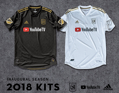 2018 Inaugural Season Kit Design