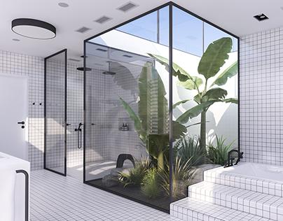 Urban Contemporary Bathroom