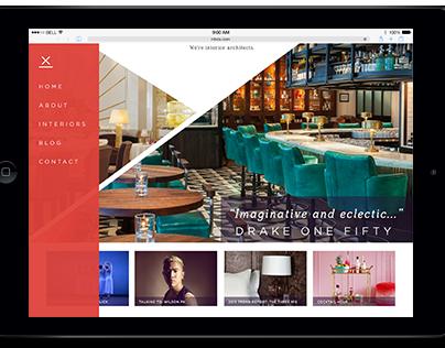 Website Redesign - Martin Brudnizki Design Studio