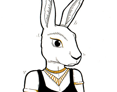 Inktober 2019 : Egyptian Goddess