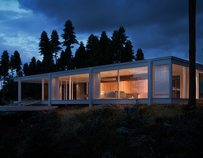 Farnsworth House - Full CG Showcase