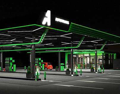 """Gas station """"AUTOTRANS"""""""