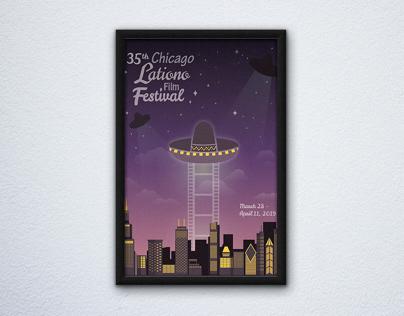 35th Chicago Latino Film Festival poster