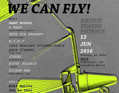 Poster promo music festival