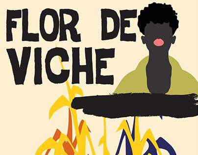Bottle Label Flor de Viche