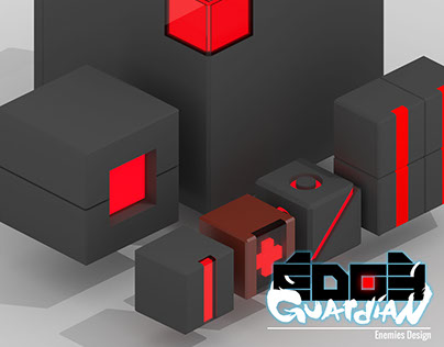 Edge Guardian - Enemies design