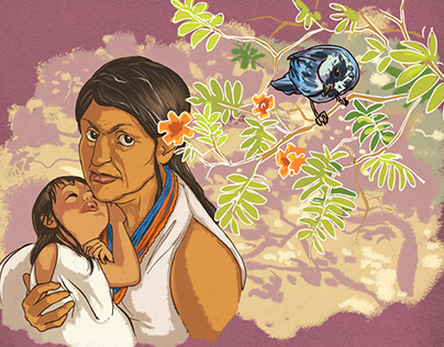Ilustraciones Mujeres CNRR