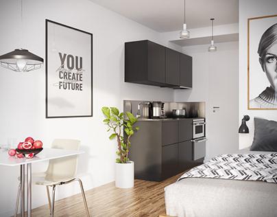 Tiny 1 Room Student Apartment