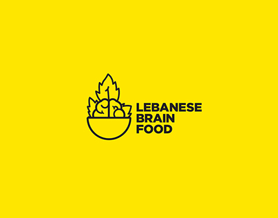 LEBANESE BRAIN FOOD (Logo Design)