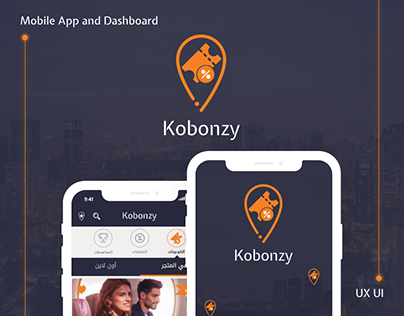 UX UI Kobonzy Mob App And Dashboard to book vouchers
