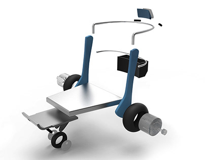 The expandable trolley