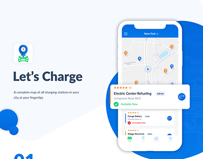 Let's Charge | iOS Applicatioon