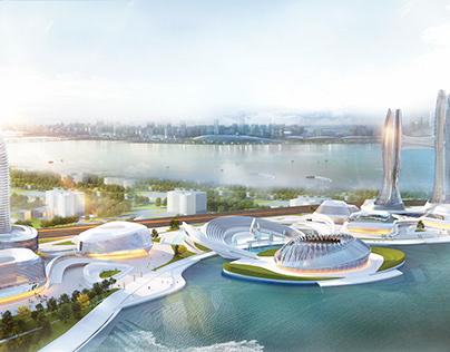 Graduation Project | Eco Business Park | Alalamein city