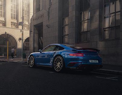 Porsche 911 Turbo S // Cape Town