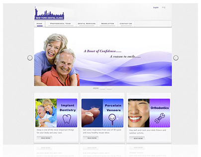 Web Design- New York Dental
