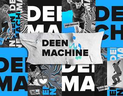 Deen Machine | Brand Identity