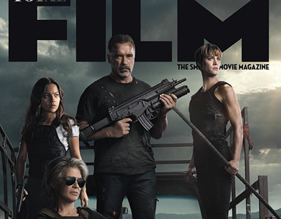 Total Film Magazine Cover: Terminator Dark Fate