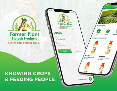 Farmer Plant Biotech Agricultural App