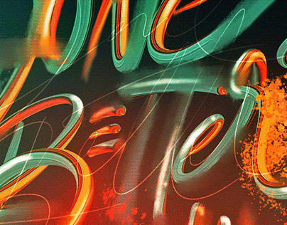 Done is Better Than Perfect - Lettering