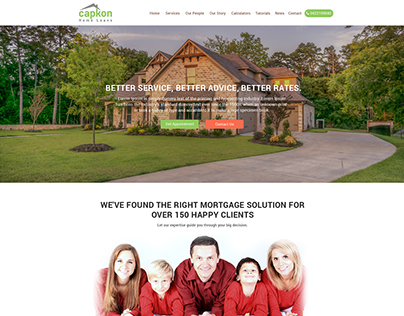 Home Loans website
