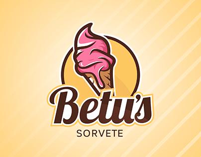 Logotipo - Betu's Sorvete