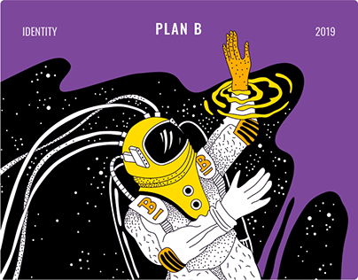 PlanB / Identity for Escape games & VR-space platform