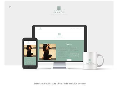 A minimalist Coaching Website