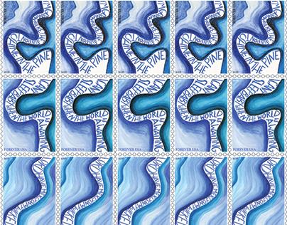 Delta Blues Stamp Design