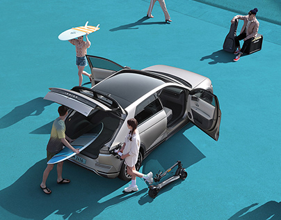 Hyundai Motors IONIQ 5 CGI_Catalogue
