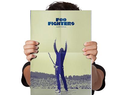 Foo Fighters, Desplegable