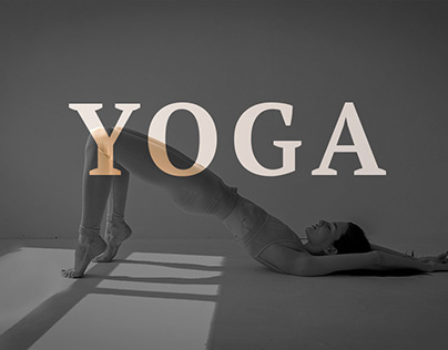 Landing page for yoga couch