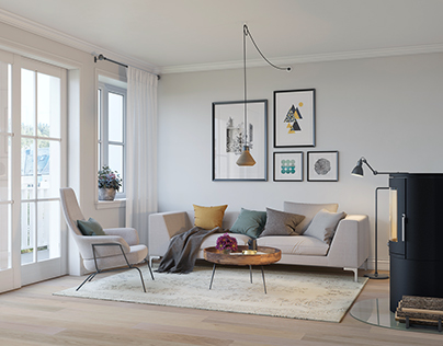 Scandinavian apartment. Order from Norway